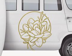 Autoaufkleber Lily Lotusphere-Set