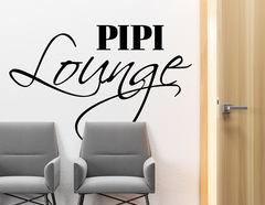 Wandtattoo Pipi Lounge