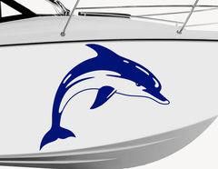 Bootsaufkleber Delphin Flippi-Set