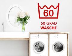 """Wandtattoo """"60 Grad"""" für alle Ordungsfans."""