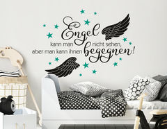 Wandtattoo Einem Engel begegnen