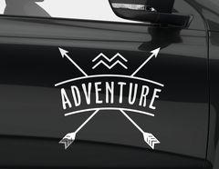 Autoaufkleber Adventure