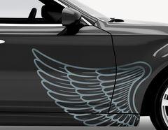 Autoaufkleber Angel Wings-Set