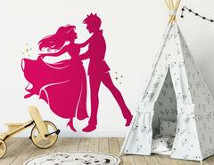 """Wandtattoo """"Verliebte Cinderella"""" zeigt wahre Liebe"""