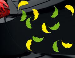 """Autoaufkleber """"Buntlaub"""": Herbst von der schönsten Seite"""