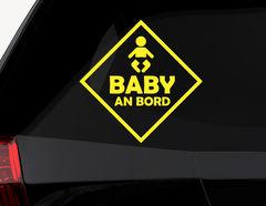 Autoaufkleber Baby an Bord-Zeichen