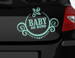 Autoaufkleber Baby Ornament