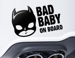 Autoaufkleber Bad Baby