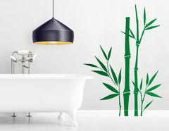 """Wandtattoo """"Bambusmagie"""" zeigt die schöne Pflanze"""
