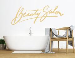 """Wandtattoo """"My Beauty Salon"""" für Schminktisch & Bad-Spiegel"""