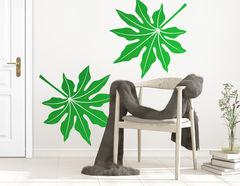 """Wandtattoo """"Tropical Party"""" für Natürlichkeit"""