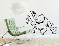 """Wandtattoo """"Triceratops Spiky"""" wirkt imposant"""