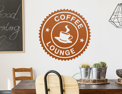 Wandtattoo Coffee Lounge