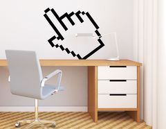 "Wandtattoo ""Cursor Hand"" Digital-Art für Nerd's & Gamer"