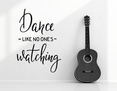 """Wandtattoo """"Dance"""" steht für mehr Leichtigkeit im Leben"""