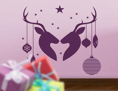 Wandtattoo Deer in Love