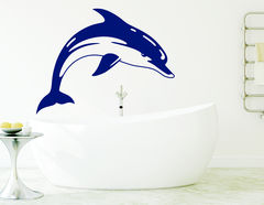"Wandtattoo ""Delphin Flippi"" bringt das Meer ins Haus"
