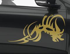 Autoaufkleber Diabolic Devil-Set