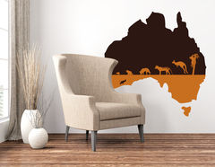 Wandtattoo Discover Australia