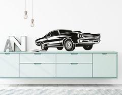 """Wandtattoo """"Muscle Car Arthur"""" zeigt eine Auto-Ikone"""