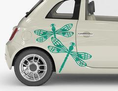 Autoaufkleber Dragonfly-Set