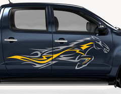 Autoaufkleber Energy Rider-Set