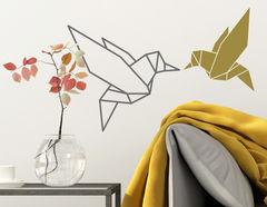 Wandtattoo Faltkunst Kolibri