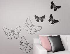 Wandtattoo Faltkunst Schmetterling