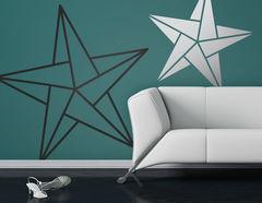 Wandtattoo Faltkunst Sterne