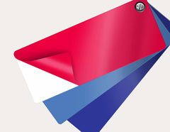 Selbstklebende Farbfolie Premium - Zuschnitt auf Wunschmaß