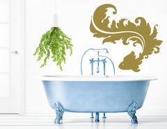"""Wandtattoo """"Fischzauber"""" ideal fürs Badezimmer"""