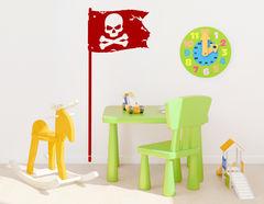 """Wandtattoo """"Piratenflagge"""" … alles klar zum entern"""