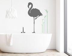 Wandtattoo Flamingokunst