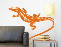 """Wandtattoo """"Gecko Theo"""" versprüht exotisches Flair"""