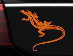 """Autoaufkleber """"Gecko Theo"""" ein faszinierend, schönes Reptil"""