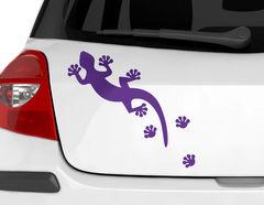 Autoaufkleber Geckosteps-Set