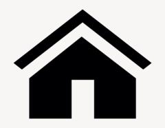 Haus - Aufkleber für Gewerbe