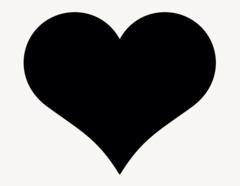 Herz - Aufkleber für Gewerbe