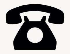 Telefon - Aufkleber für Gewerbe