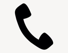 Telefonhörer - Aufkleber für Gewerbe
