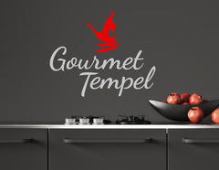 Wandtattoo Gourmet Tempel