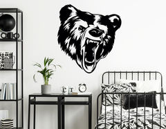"""Wandtattoo """"Angry Grizzly"""" verleiht volle Grizzlybären-Power"""