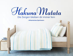"""Dieser Spruch aus Afrika hält Sorgen fern: """"Hakuna Matata"""""""