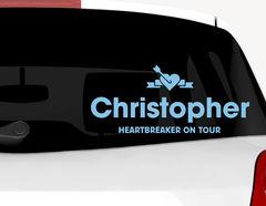 Autoaufkleber Heartbreaker