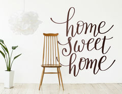 "Wandtattoo ""Home Sweet Home"" markiert Dein Zuhause"