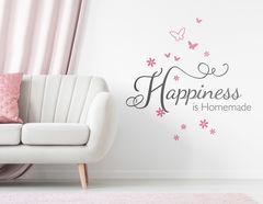 Wandtattoo Homemade Happiness