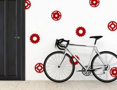 "Wandtattoo ""Kettenblatt"" für jeden Fahrrad-Fan"