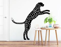"Wandtattoo ""Leopard Joy"" wirkt imposant"