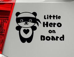 "Autoaufkleber ""Pandabär Hao"" gilt in China als Glückssymbol"