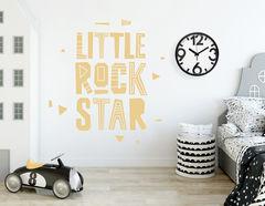 """Wandtattoo """"Little Rockstar"""" für die Stars von Morgen"""
